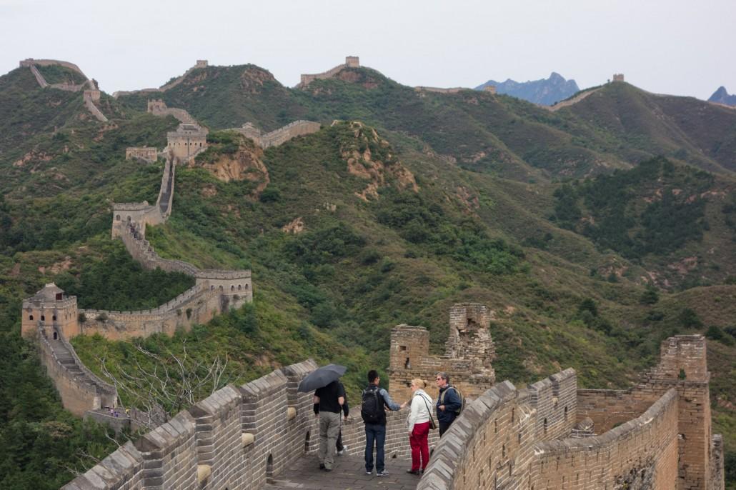Chinesische Mauer von Jinshanling to Simatai