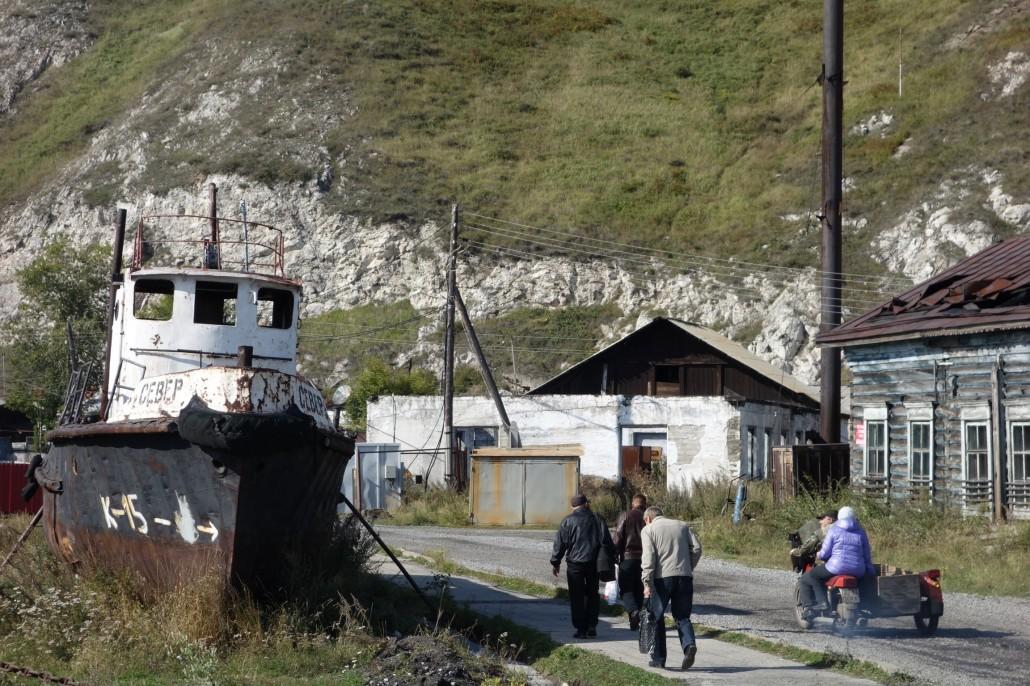 Port Baikal & Raketa nach Irkutsk