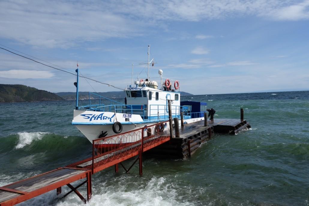 Mit dem Boot zur Baikalbahn & letzter Tag am See