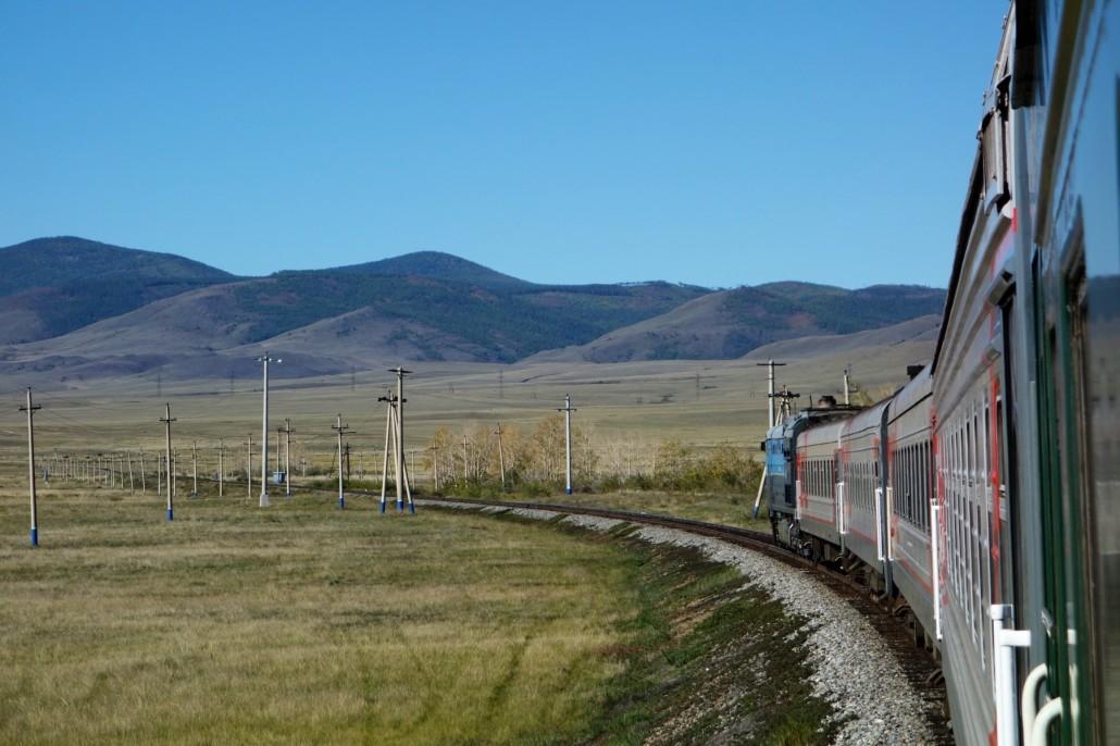 Vor Irkutsk in die Mongolei