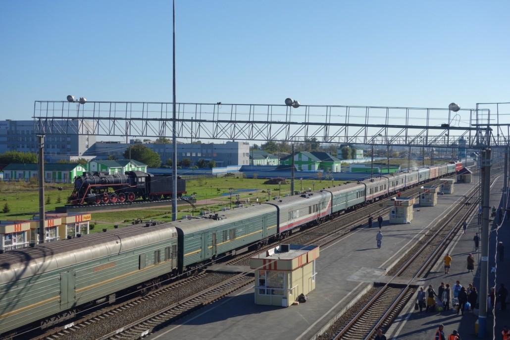 Im Zug durch Sibirien. Der 3te Tag