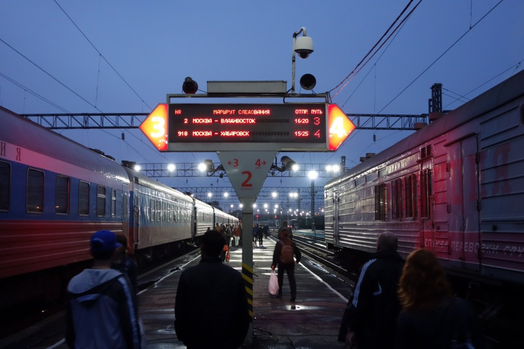 Letzter Tag im Zug 2 Rossija