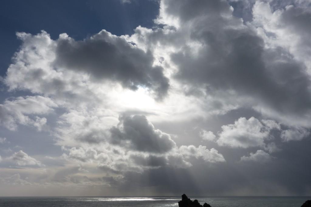Wolken über Irland
