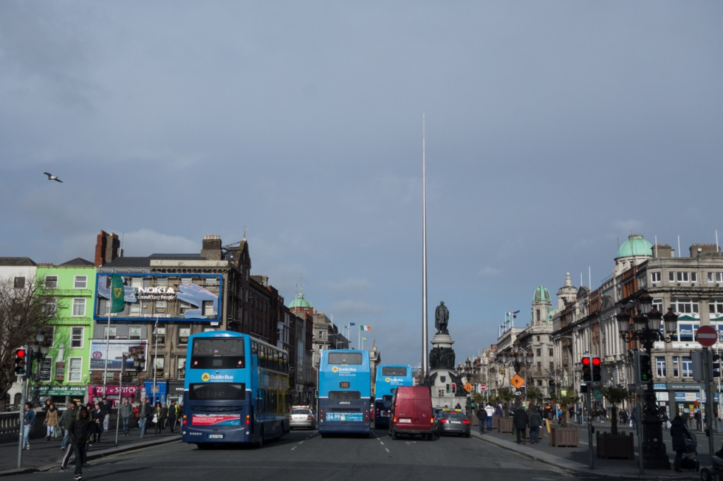 The Spire an der  O'Connell Street