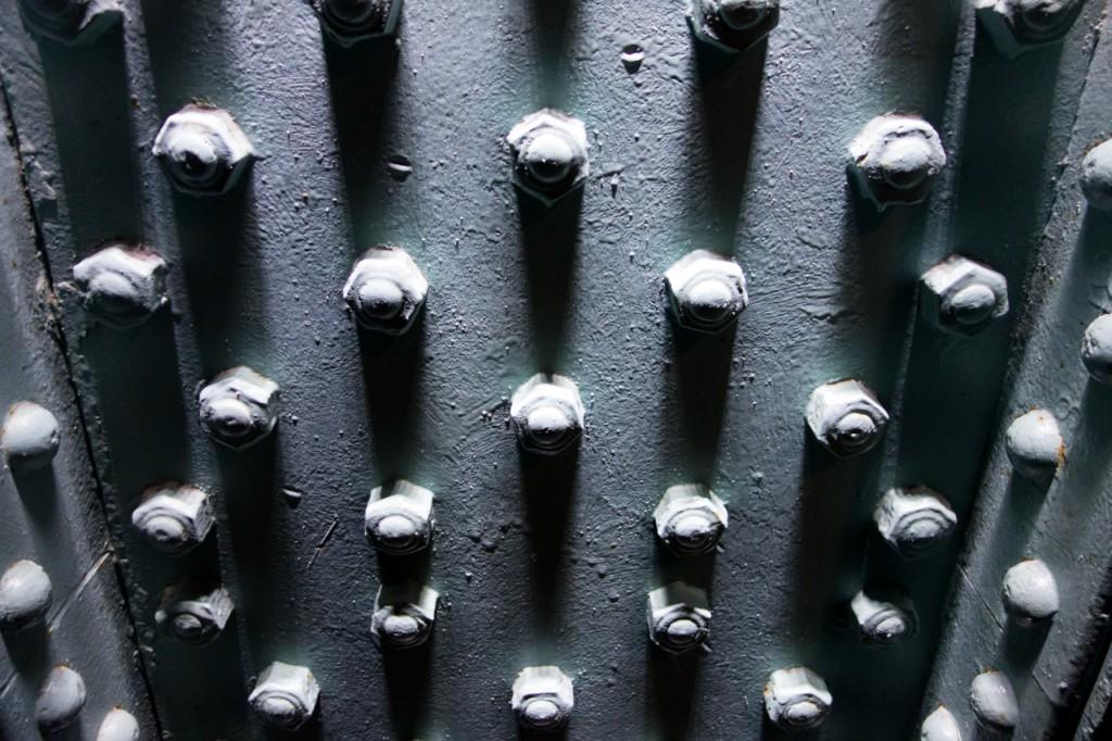 Säule im Guinness-Storehouse