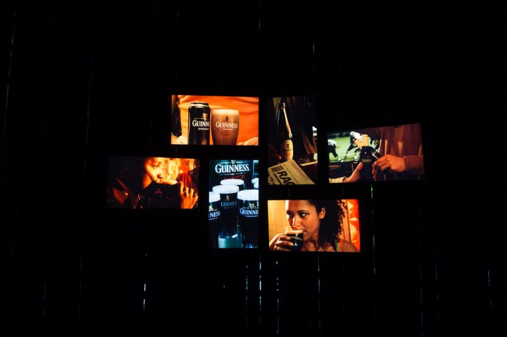 Viel Multimedia im Guinness Storehouse