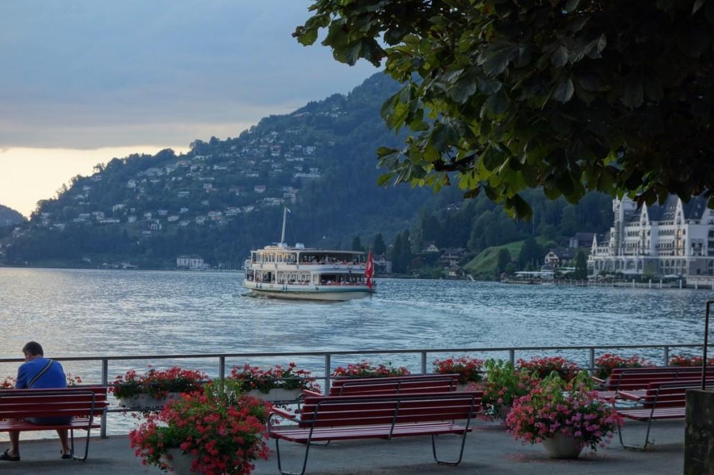 Über den Gotthardt und dem Rigi zum Vierwaldstätter See